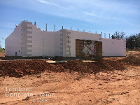 Chandler OK High School Tornado Safe Room and Multi-purpose ICF Building with Quad-Lock ICF by ICF & More OKC - Image 2