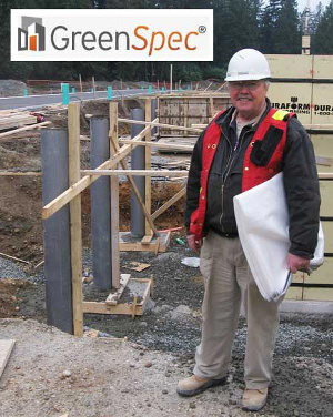 Fast-Tube Fabric Forming for concrete columns and pilasters in OK is GreenSpec Listed