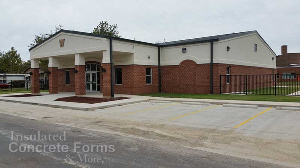 ICF Early Childood Center and Community Safe Room for Wayne Oklahoma using Logix ICF System - Image 1