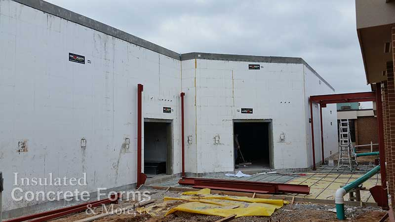 Tornado Safe Room Projects Oklahoma Construction Photos