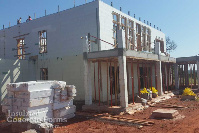 Quad-Lock ICF Tornado Resistant Home in Meridian OK - 2nd Level taking shape