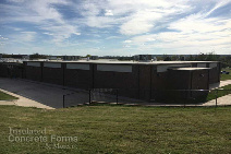 ICF Safe Room for Ada High School in Ada, OK using Quad-Lock & Quad-Deck - Finished 2