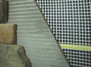 Spiderlath - the easy to handle and long lasting alternative to metal lath in Oklahoma