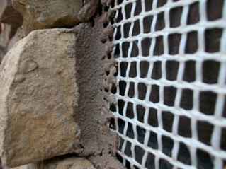 SpiderLath alternative to metal lath