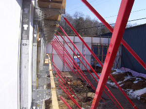 Superior Alignment Systems EX 120 ICF Bracing System Lock Detail for ICF Walls in Oklahoma