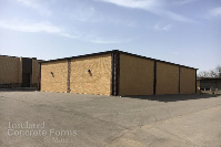 Completed Tornado Safe Room for Windsor Elementary School in Bethany OK with Fox Blocks ICF