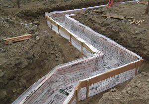 Fab-Form Fabric Formwork for Concrete Footings, Columns and ICF Foundations in Oklahoma